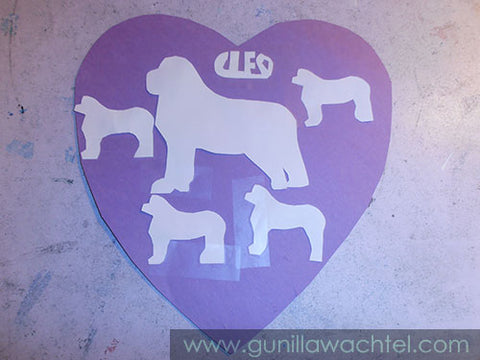 A Creative Heart for Our Cute Cleo - Gunilla Wachtel