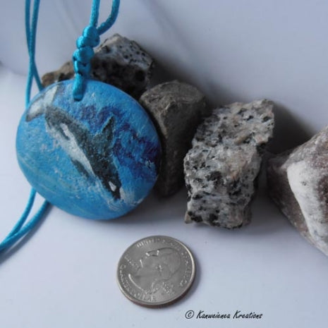Ocean Splash - Beach Stone Necklace - Gunilla Wachtel