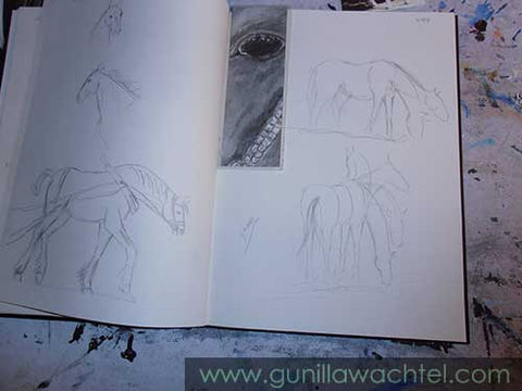 Pages from my sketchbook - Gunilla Wachtel