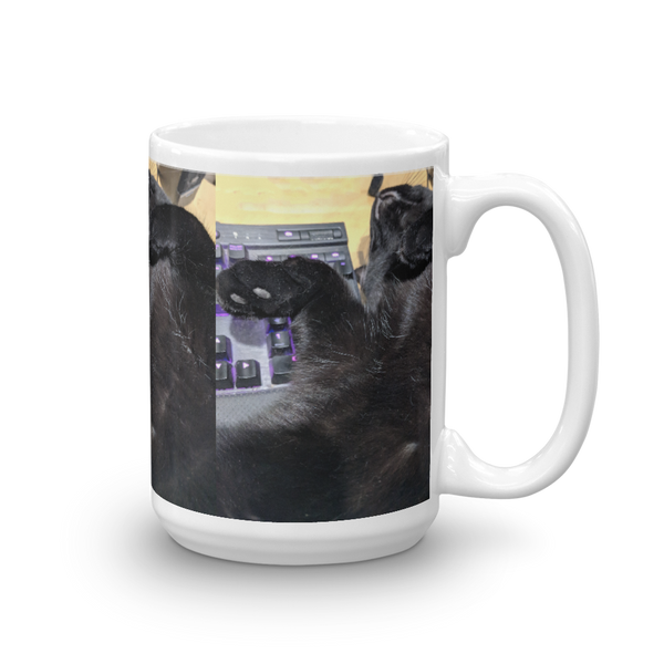 Cat Kitty Feline Lover's Mug Kanweienea Kreations