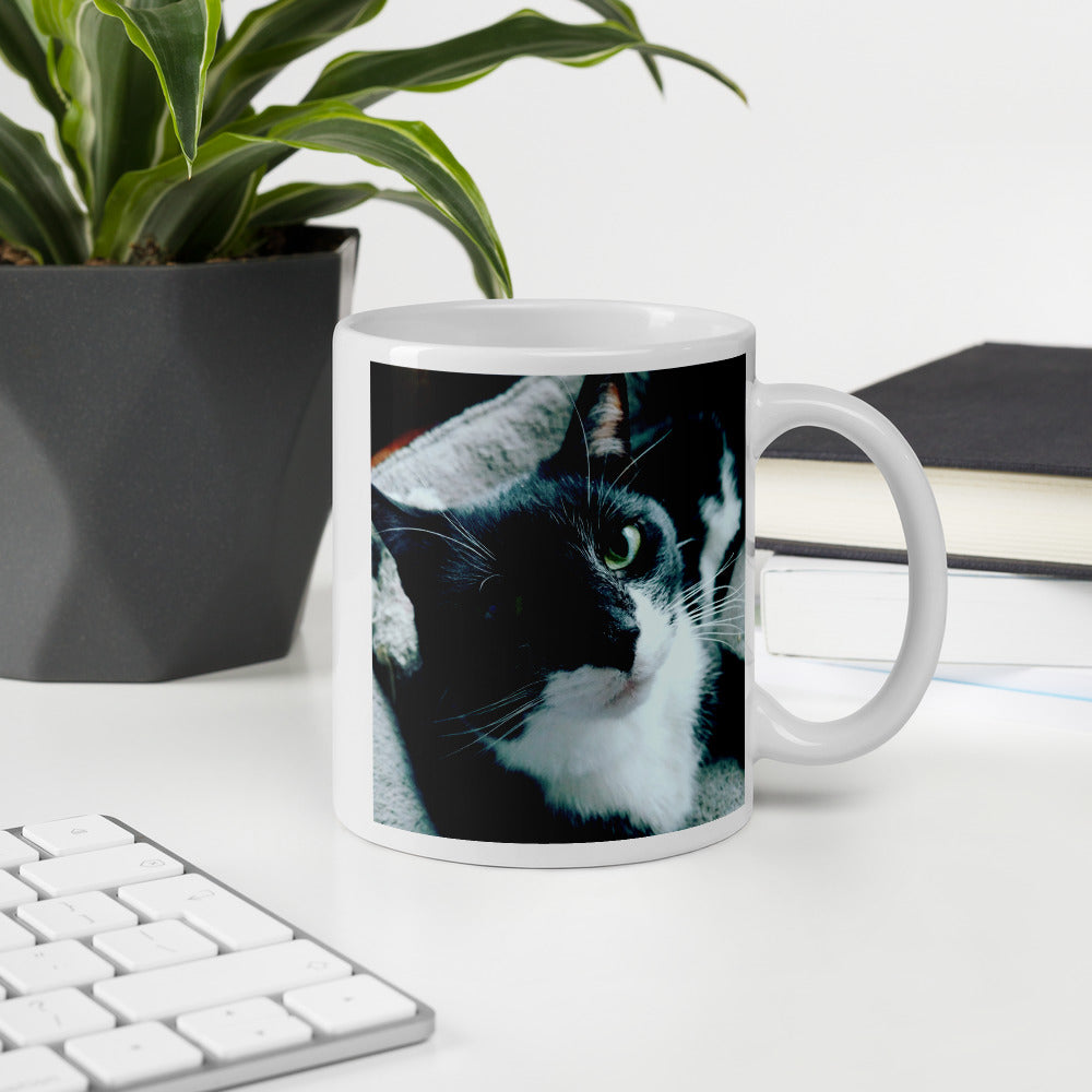 Tuxie the Tuxedo Cat Mug