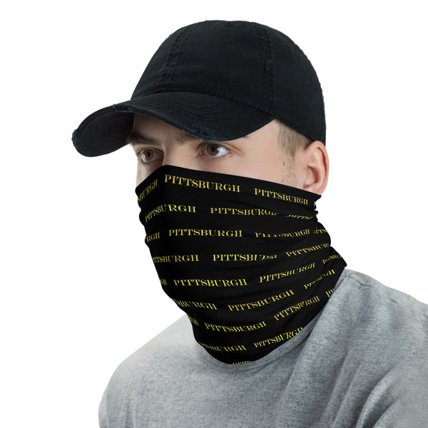 This neck gaiter is a versatile accessory that can be used as a face covering, headband, bandana, wristband, and neck warmer. Upgrade your accessory game and find a matching face shield for each of your outfits.