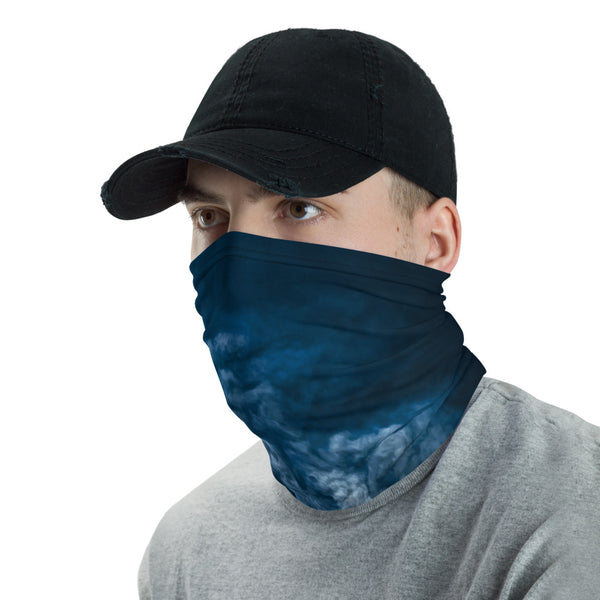 This neck gaiter is a versatile accessory that can be used as a face covering, headband, bandana, wristband, and neck warmer.