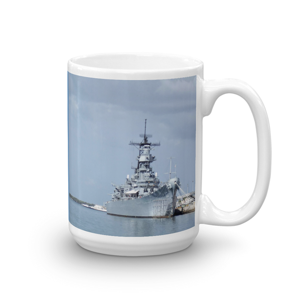 USS Missouri Pearl Harbor Oahu Hawaii Mug Honolulu