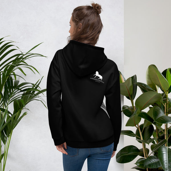 Horse Head Art All over Print Unisex Hoodie gifts for horse lovers