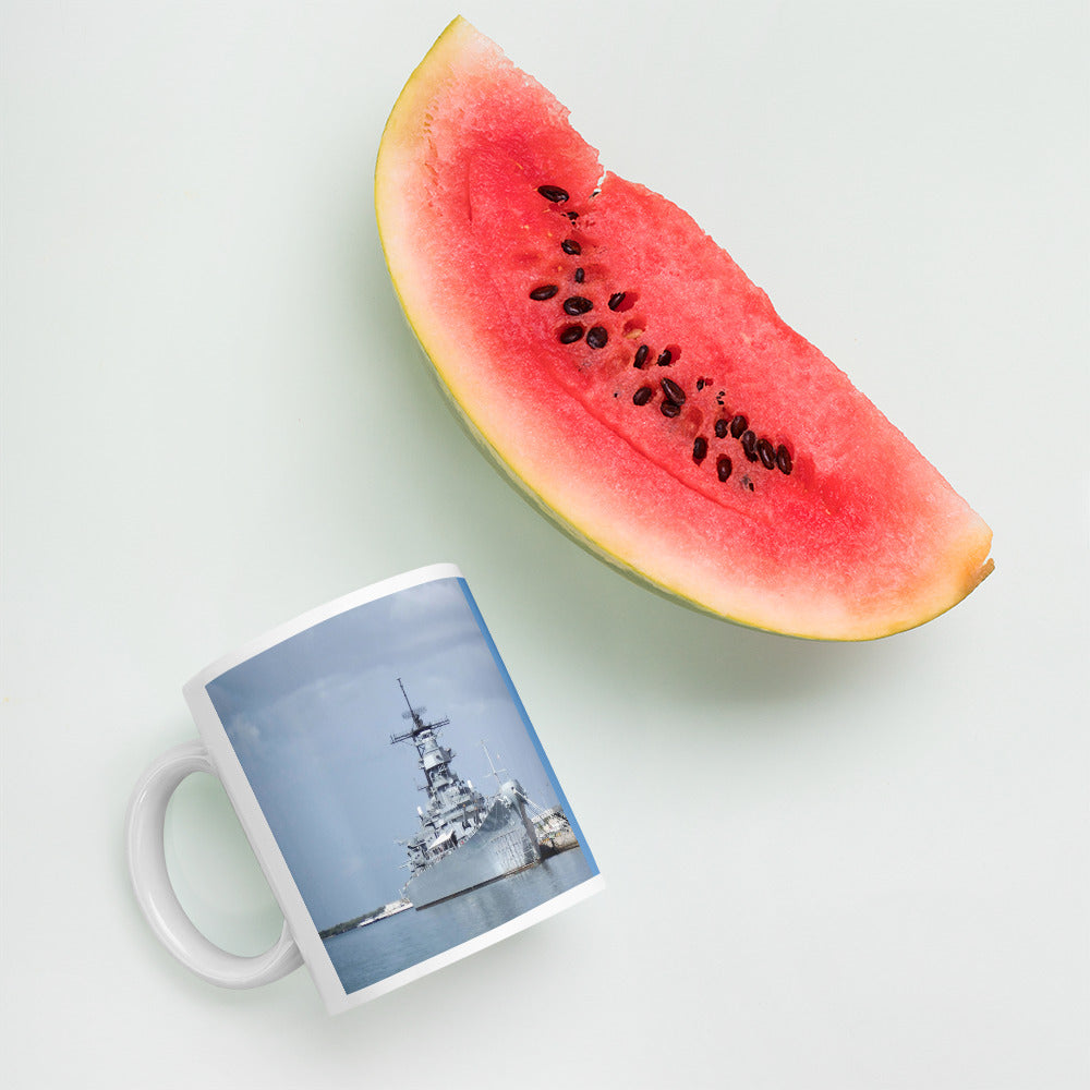 USS Missouri Pearl Harbor Oahu Hawaii Mug Ceramic Sturdy