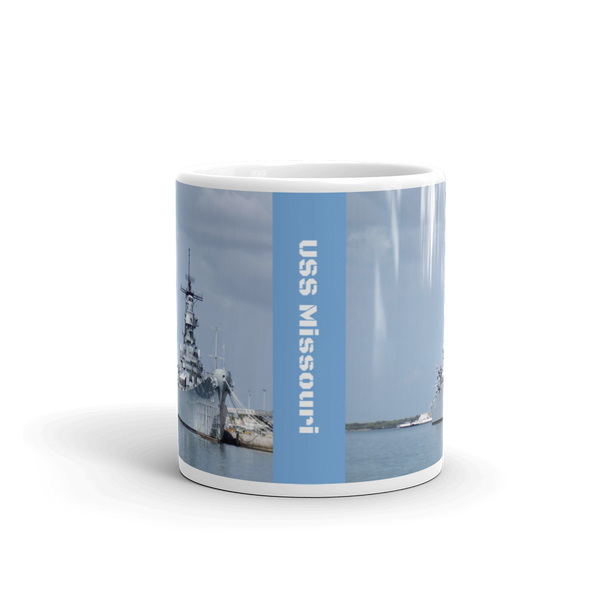 USS Missouri Pearl Harbor Oahu Hawaii Mug 11 Oz