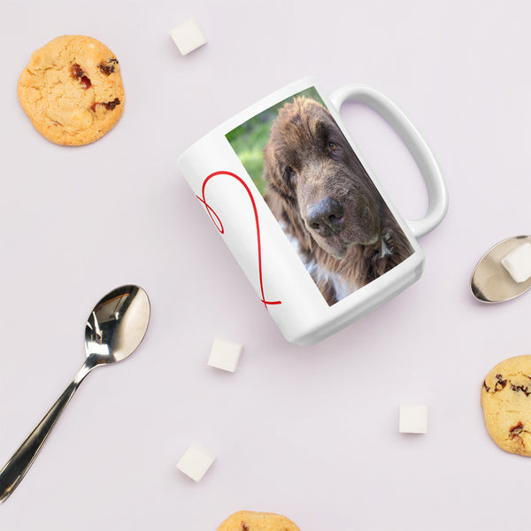 Cleo the Newfoundland Dog Landseer Mug newf