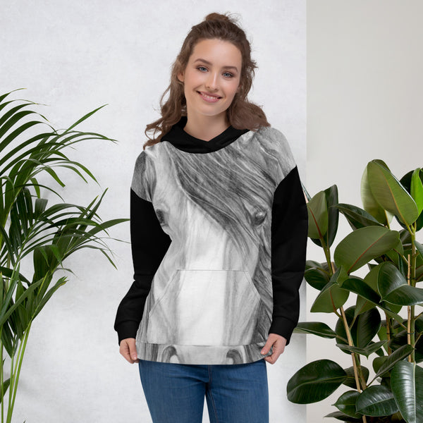 Horse Head Art All over Print Unisex Hoodie
