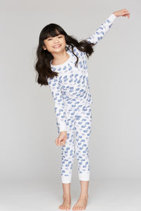 Roller Rabbit Kids Pajamas Blue Moby