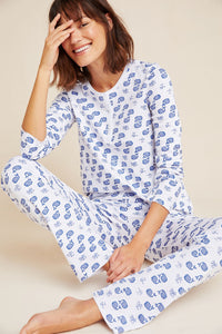 Roller Rabbit Adult Pajamas Moby