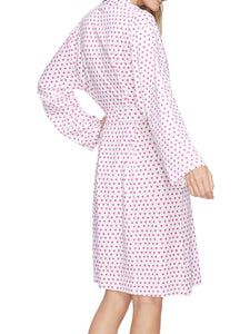 Roller Rabbit Axel Robe Pink Hearts