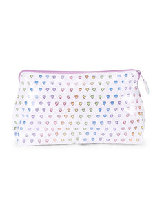 Roller Rabbit Makeup Bag Rainbow Disco Hearts