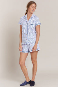 Roller Rabbit Polo PJ Set Hearts