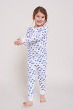 Load image into Gallery viewer, Roller Rabbit Kids Pajamas Blue Moby