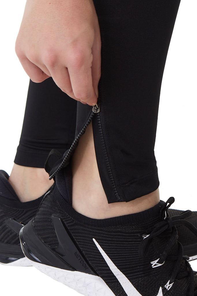 Snoga Mesh Ankle Zipper with Full Leggings