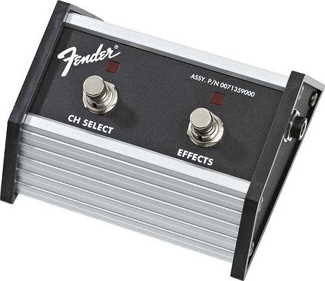 Fender 2-Button Footswitch for Fender Super Champ XD
