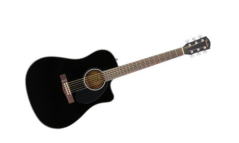 Fender CD-60SCE Black Acoustic-Electric Guitar