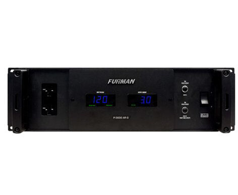 Furman 3SP 30A Power Conditioner with Edison / L-14 Twistlock Inlets