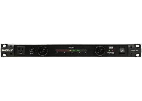 Furman 15A Power Conditioner with Pull-Out Lights and Voltmeter
