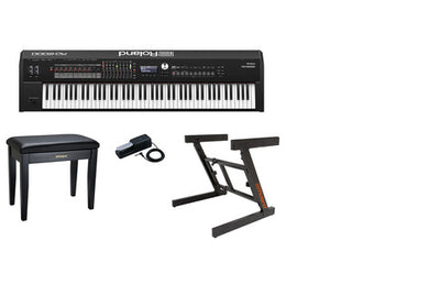 Roland RD-2000 W/ Pedal, Stand, Bench and Cover