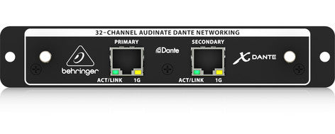 Behringer XDANTE 32-Channel Dante Expansion Card the X32 Digital Mixer