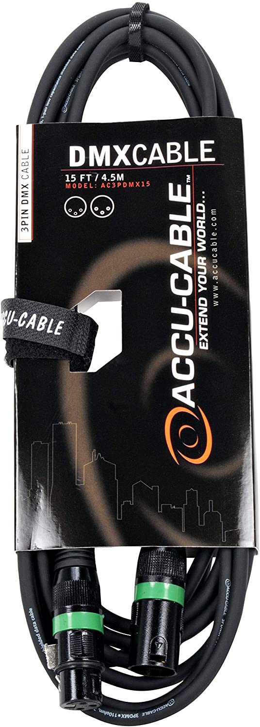 Accu-Cable 15' - 3 Pin