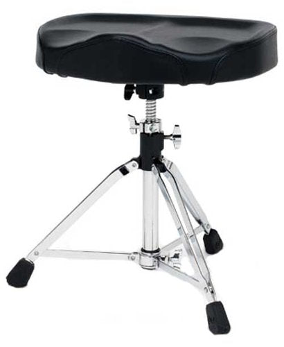 DW Drum Throne, Oversized Tractor Seat, Double Locking Clamp