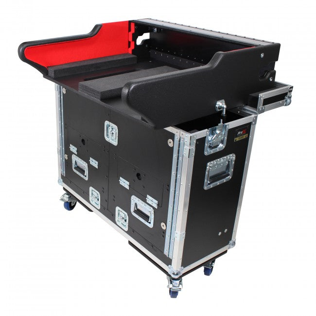 Pro X Flip-Ready Easy Retracting Case for Yamaha CL3 Console