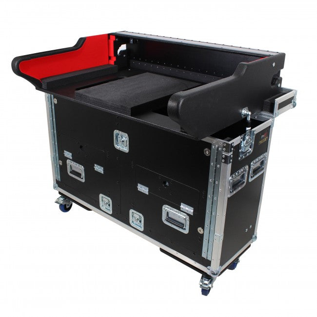 Pro X Flip-Ready Easy Retracting Case for Yamaha CL5 Console