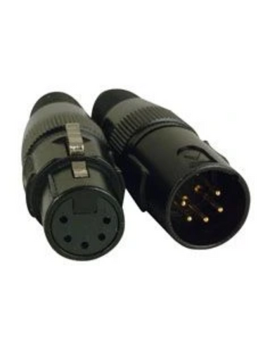 Accu-Cable 5 Pin XLR Connectors