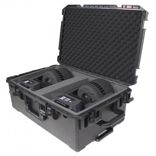 Pro X Large Watertight Case W-Extendable Handle, Wheels and Pluck-N-Pak Foam