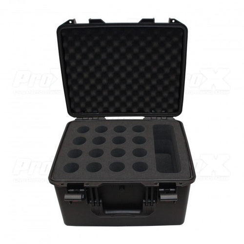 Pro X Watertight Microphone Case (Holds 16 Handheld Units)