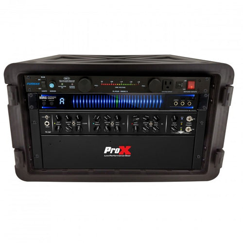Pro X 6U Rack Air-tight, Water-sealed ABS Case