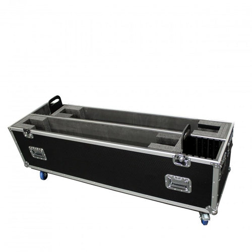 Pro X Flat Screen TV Road Case Holds Two 55