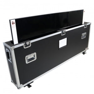 "Pro X Universal Case for One 55"" to 65"" Flat Screen TV w/ Low Profile Wheels"