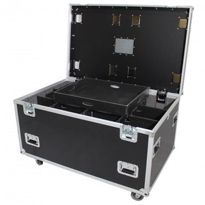 Pro X Medium Size Heavy-Duty Truck Pack Utility Flight Case W-Divider and Tray Kit - XS-UTL483030W