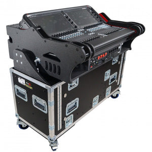 Pro X Retracting Hydraulic Lift Case for Allen and Heath Avantis w/ 2U under the Console