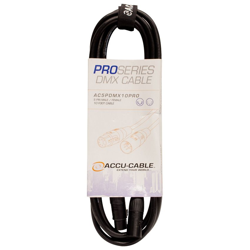 Accu-Cable Pro 10' - 5 Pin