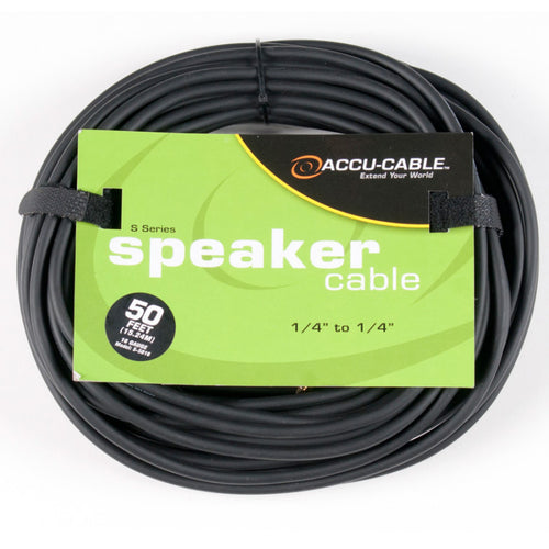 Accu-Cable 50' 1/4 to 1/4