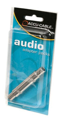 "Accu-Cable Female ¼"" to Female ¼"" Adapter"