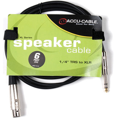 Accu-Cable 6' 1/4