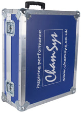 Load image into Gallery viewer, Chamsys Flight Case For MagicQ MQ80 - Blue