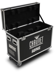 Chauvet Rogue R2X Spot and R3 Spot (2) Road Case
