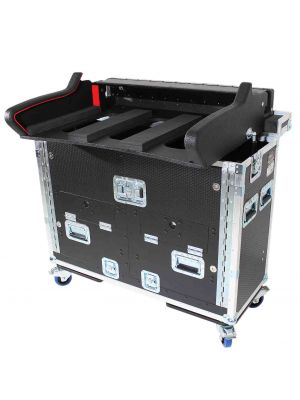 Pro X Detachable Retracting Hydraulic Lift Case With 2U for Allen and Heath DLive C3500