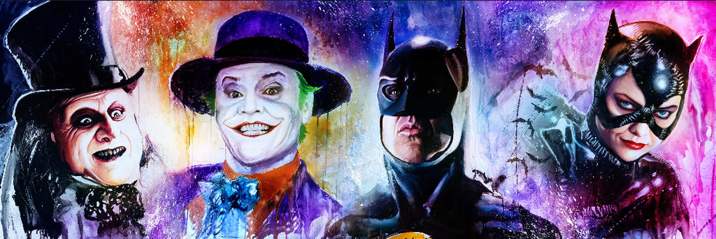 Batman Tim Burton- 4 faces 13x39
