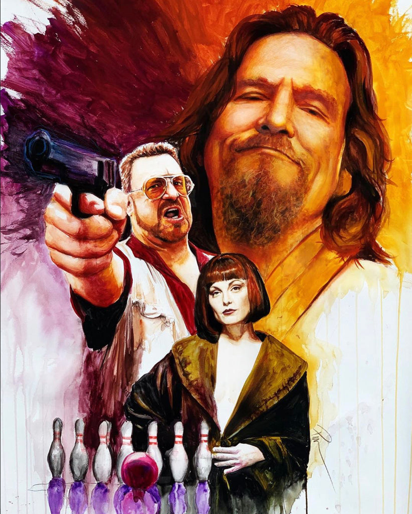 The Big Lebowski 13x19