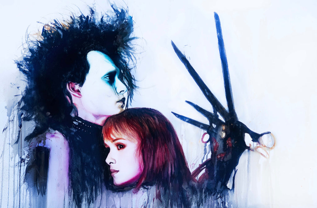 Edward Scissorhands 13x19