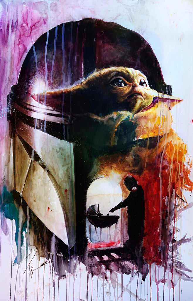 Mandalorian The Child Baby Yoda 15x24