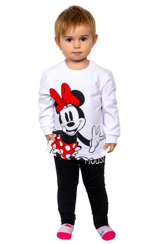 Sportanzug Minnie Mouse Black & White